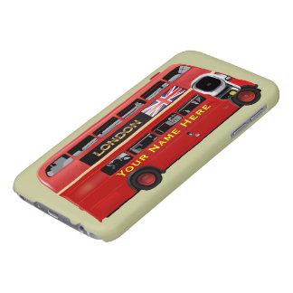 O ônibus do vermelho de Londres Capas Samsung Galaxy S6