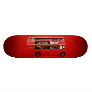 O ônibus do vermelho de Londres Shape De Skate 18,1cm