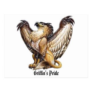 O orgulho do grifo - cartão