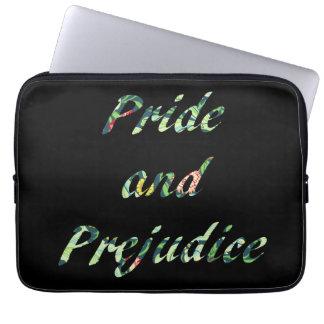 O orgulho e o preconceito de Jane Austen Sleeve Para Notebook