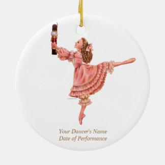 O ornamento da lembrança do balé do Nutcracker