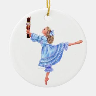 O ornamento da lembrança do balé do Nutcracker com