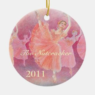 O ornamento do balé do Nutcracker - comemorativo
