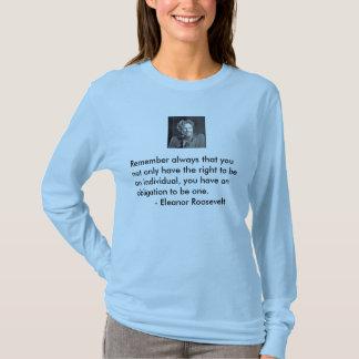 O ot da obrigação seja um indivíduo camiseta