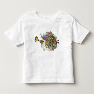 O ouriço do jardim caçoa o Tshirt