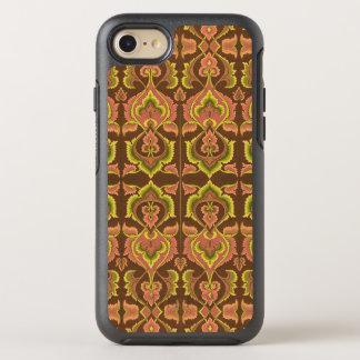 O outono exótico do vintage colore o amarelo verde capa para iPhone 7 OtterBox symmetry