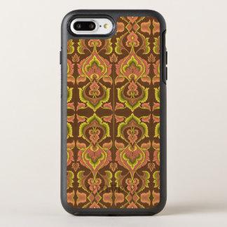 O outono exótico do vintage colore o amarelo verde capa para iPhone 7 plus OtterBox symmetry