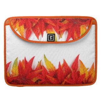 O outono/queda deixa a cores Macbook do fogo a pro Bolsa Para MacBook Pro