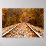 O outono segue o poster