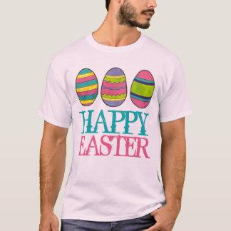 O ovo pintado cesta do felz pascoa Eggs o T Camiseta