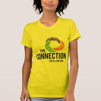 O padrão da conexão camiseta