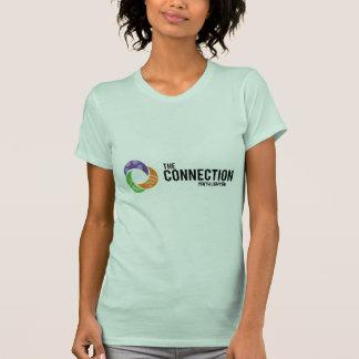 O padrão da conexão t-shirts