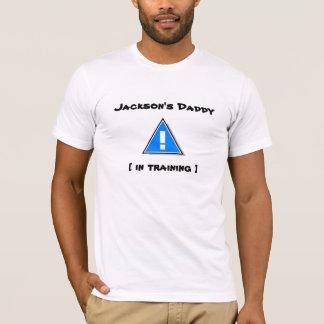 O pai de Jackson [no treinamento] - bebê novo Camiseta