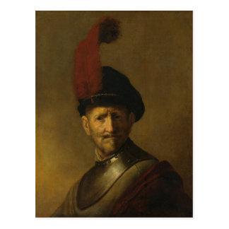 O pai de Rembrandt, Gerrit Rembrandt, 1634 Cartão Postal