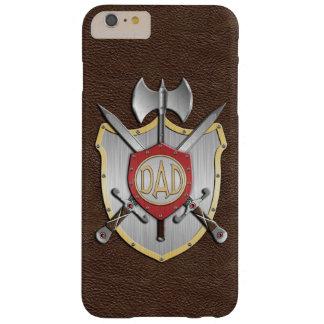 O pai Knights a crista Brown da batalha Capa Barely There Para iPhone 6 Plus