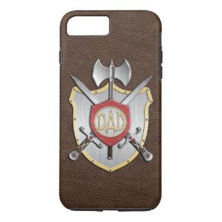 O pai Knights a crista Brown da batalha Capa iPhone 7 Plus