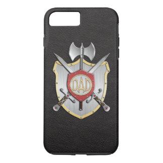 O pai Knights o preto da crista da batalha Capa iPhone 7 Plus