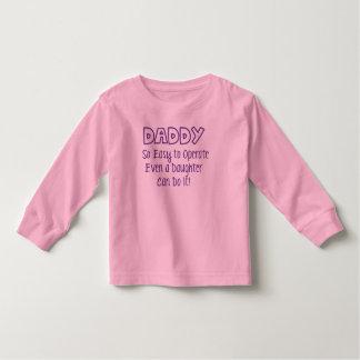O pai tão fácil de operar mesmo uma filha pode camiseta infantil