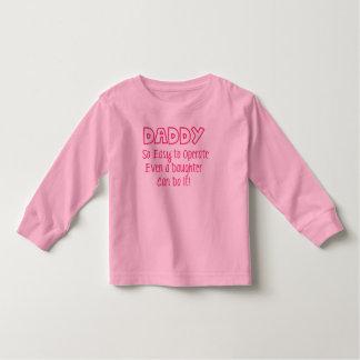 O pai tão fácil de operar mesmo uma filha pode tshirts