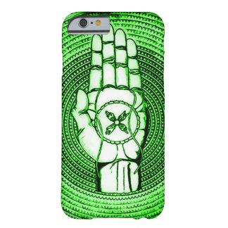 O país das fadas verde Oracle entrega a arte Capa Barely There Para iPhone 6