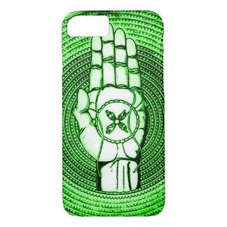 O país das fadas verde Oracle entrega a arte Capa iPhone 7