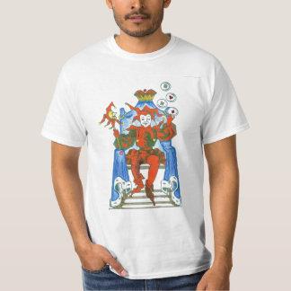 O palhaço camisetas