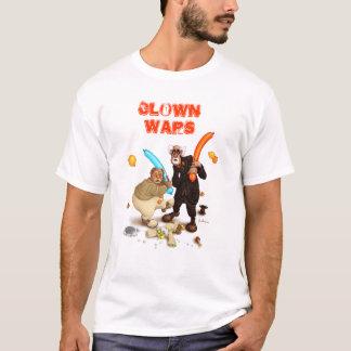 O palhaço guerreia camisa