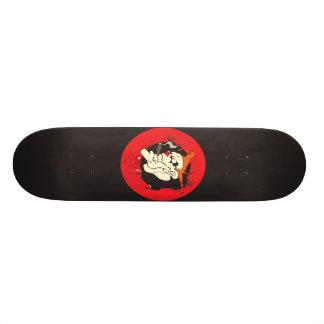 O palhaço mau skate