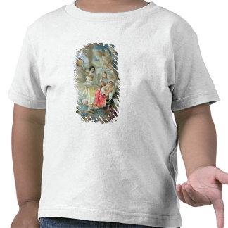O pandeiro (w/c no papel) camisetas