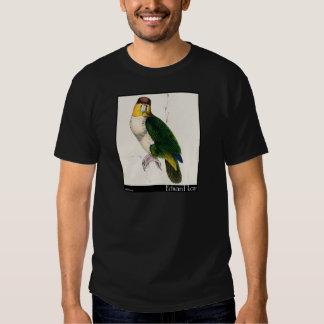 O papagaio Baía-Dirigido de Edward Lear Camisetas