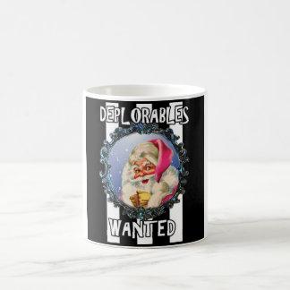 O papai noel ama o Deplorables, caneca de café