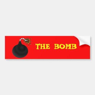 O pára-choque da bomba adesivo para carro