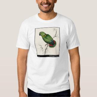 O Parakeet do Swindern de Edward Lear T-shirts