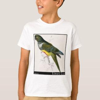 O Parakeet-Macaw Patagonian de Edward Lear Camiseta