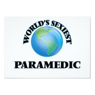 """O paramédico o mais """"sexy"""" do mundo convites personalizado"""