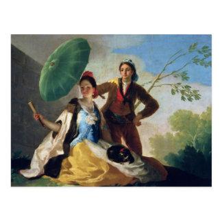 O parasol, 1777 cartão postal