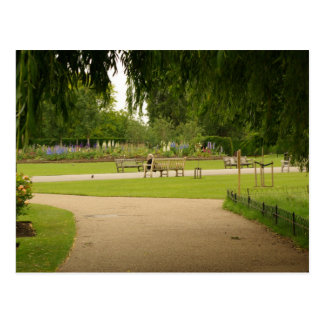 O parque do regente, cartão de Londres