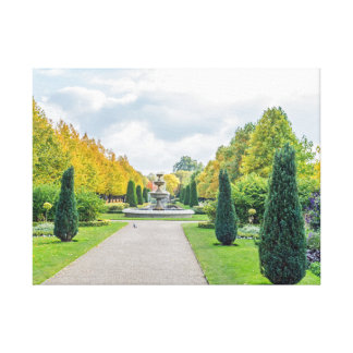 O parque do regente, impressão das canvas de