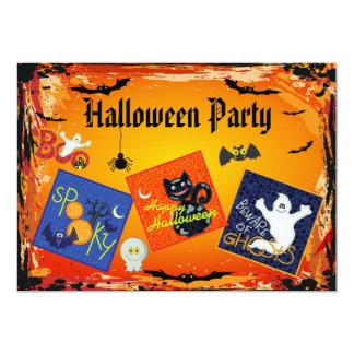 O partido assustador do Dia das Bruxas dos Convites
