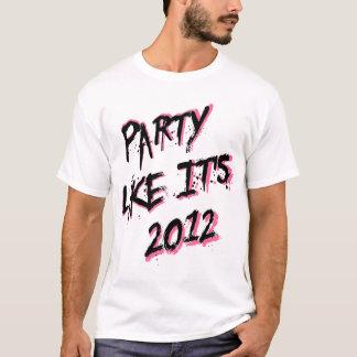 O partido como ele é camisa de 2012 brancos