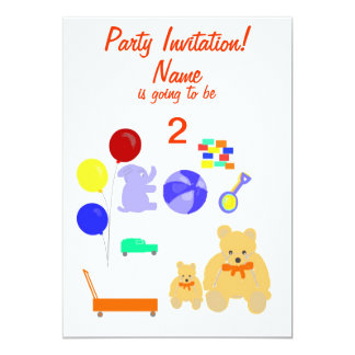O partido convida a criança dos cartões de RSVP Convites Personalizados