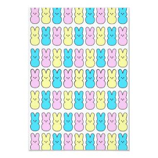 O partido da páscoa dos coelhinhos da Páscoa Convite 8.89 X 12.7cm