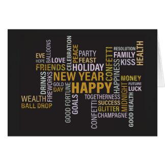 O partido de ano novo exprime o convite