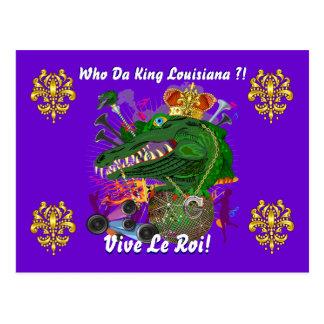 O partido do carnaval vê por favor notas cartão postal