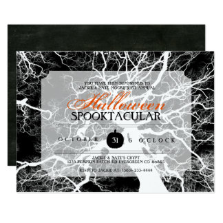 O partido do Dia das Bruxas Spooktacular convida Convite 12.7 X 17.78cm