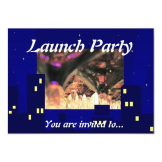 O partido do traje de cerimónia do lançamento da convites personalizados