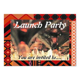 O partido do traje de cerimónia do lançamento da convite personalizado