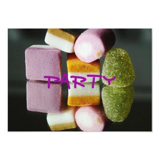 O partido doce convida convite personalizados