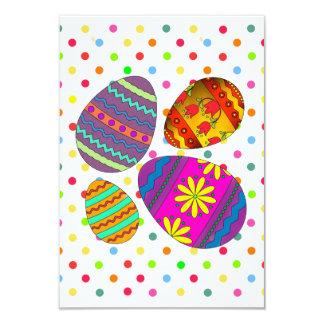 O partido Eggs convites de festas da páscoa