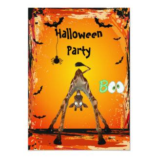 O partido engraçado lunático do Dia das Bruxas do Convites